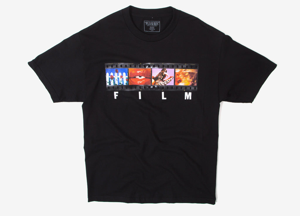 Pleasures Film T Shirt - Black
