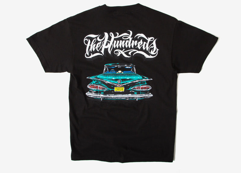 The Hundreds x Mister Cartoon Fifty Nine T Shirt - Black