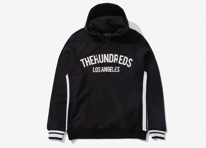 The Hundreds Genesee Pullover Hoody - Black