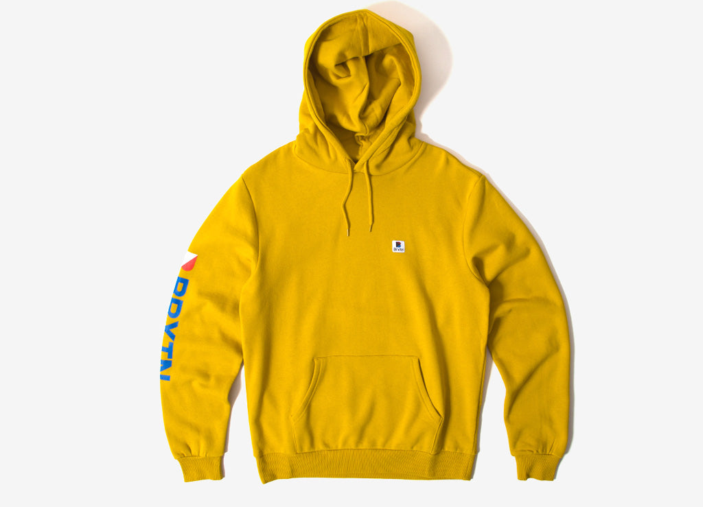 Brixton Stowell Intl Pullover Hoody Nugget Gold
