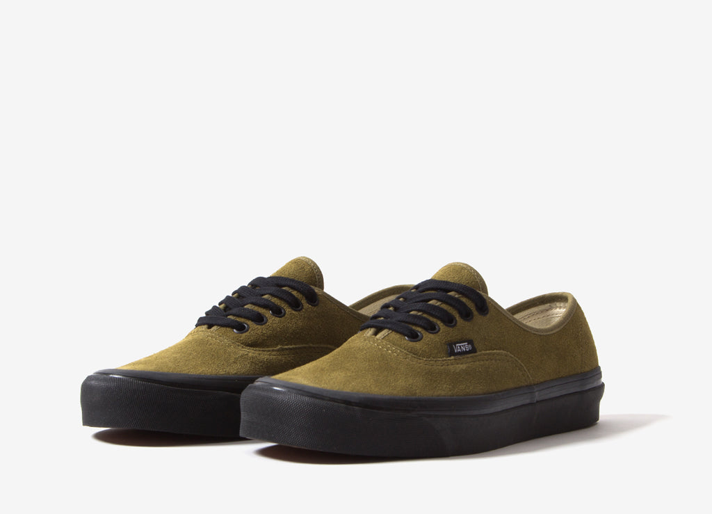 Vans Authentic 44 DX 'Anaheim Factory' (Suede) Shoes - OG Olive