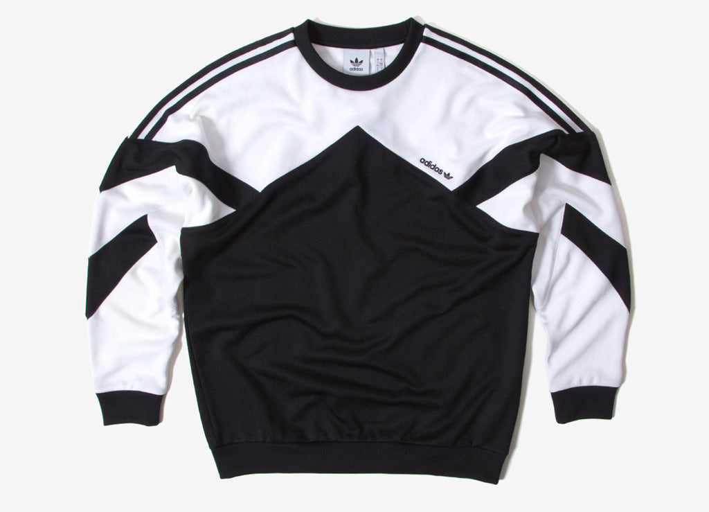 adidas Originals Palmeston Sweatshirt - Black/White