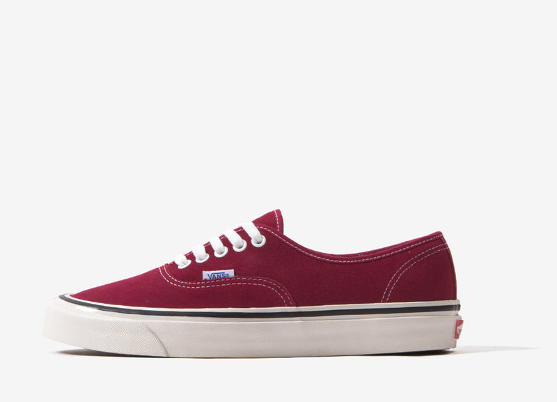 Vans Authentic 44 DX 'Anaheim Factory' (Suede) Shoes - OG Brick