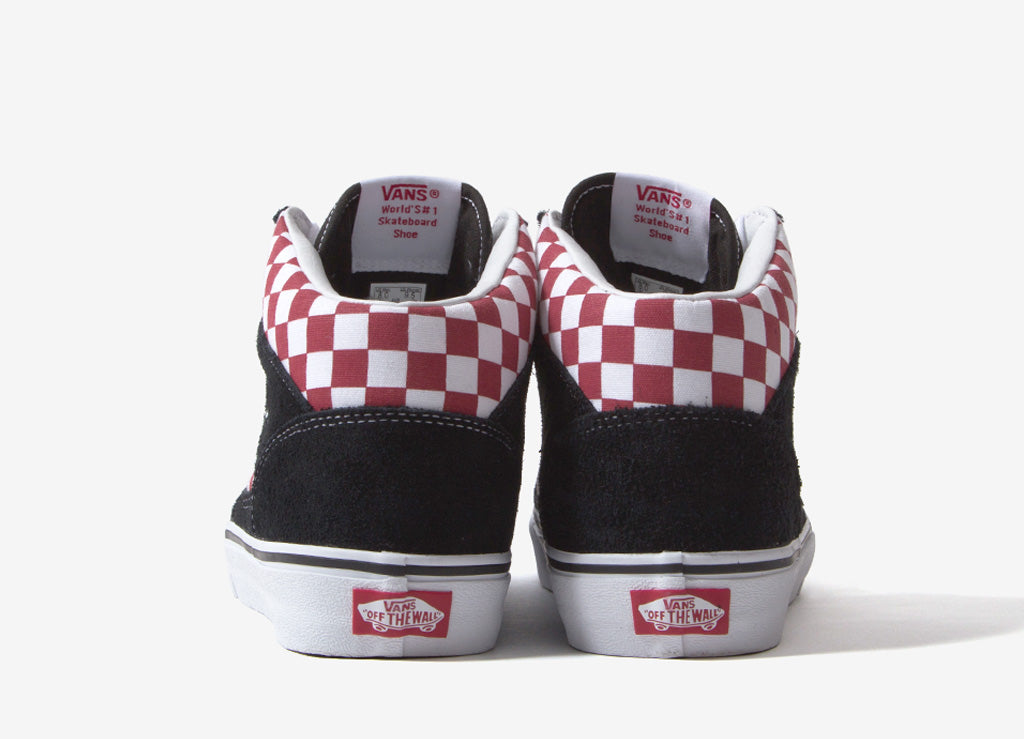cheap for discount 09e80 8258e Vans Mountain Edition Schuhe-(Checkerboard) rot/weiß