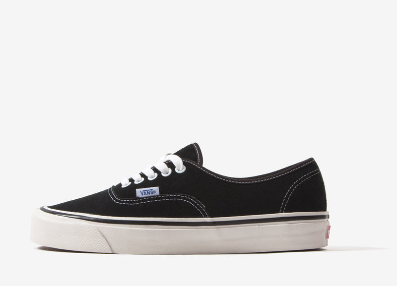 Vans Authentic 44 DX 'Anaheim Factory' (Suede) Shoes - OG Black
