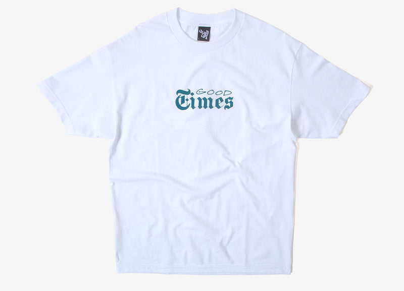 The Quiet Life Good Times T Shirt - White