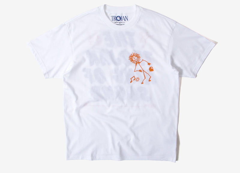 Carhartt x Trojan King Of Sound T Shirt - White