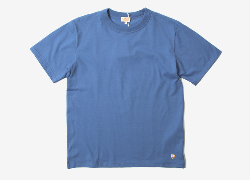 Armor Lux 71990 Basic T Shirt - Moody Blue