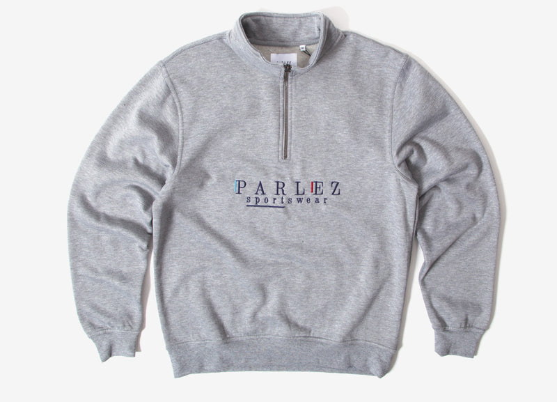 Parlez Wear 1/4 Zip Sweatshirt - Heather