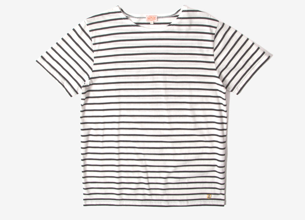 Armor Lux Sailor T Shirt - Milk/Ebony