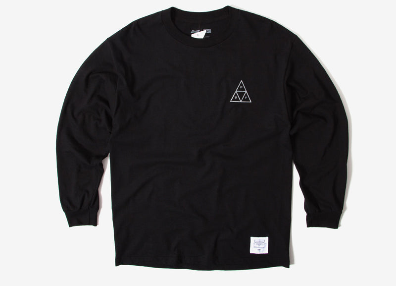 HUF x Budweiser Triangle LS T Shirt - Black