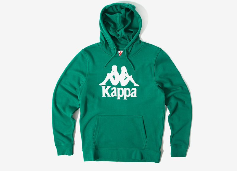 Kappa Zemin Authentic Hoody - Green/White
