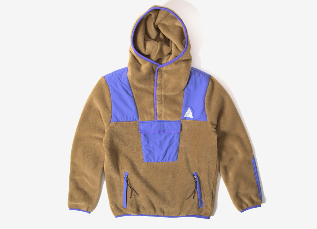 HUF Boulevard Anorak Fleece Jacket - Elmwood