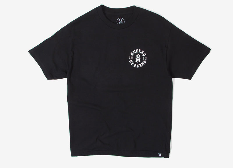 Rebel8 Head Over Wheels T Shirt - Black