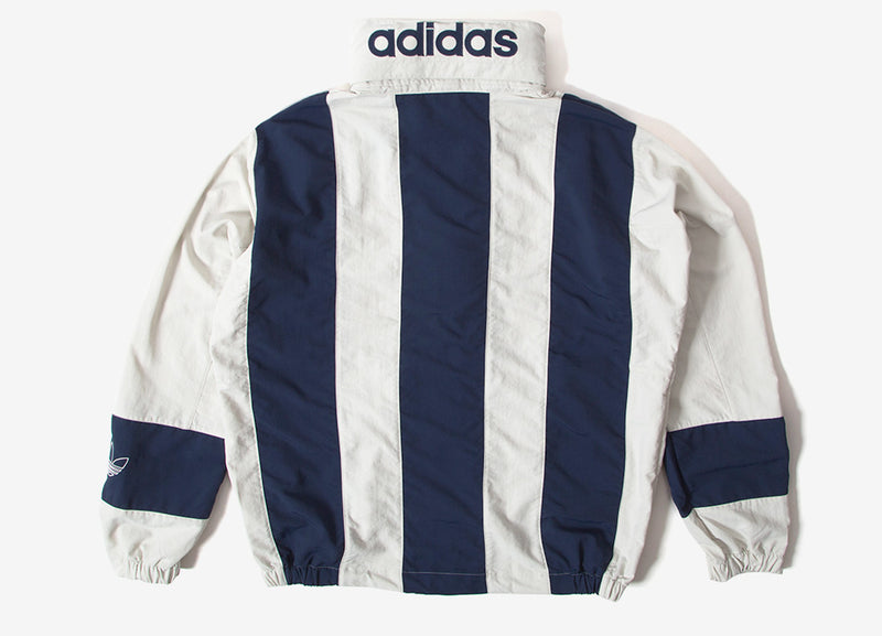 adidas Originals Sailin Windbreaker Jacket - Raw White/Collegiate Navy