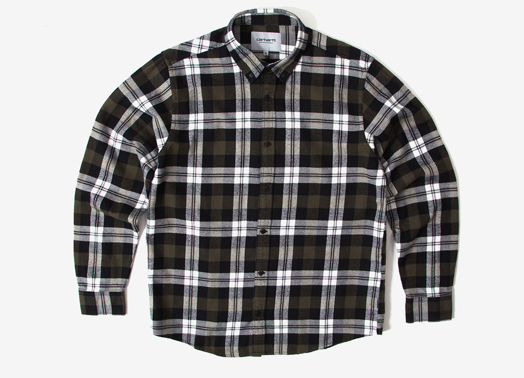 Carhartt Lessing Shirt - Garden Check