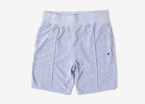 Champion Reverse Weave Vintage Terry Shorts - Grey Marl
