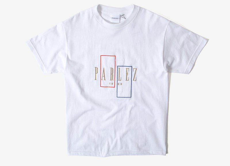 Parlez Spray T Shirt - White