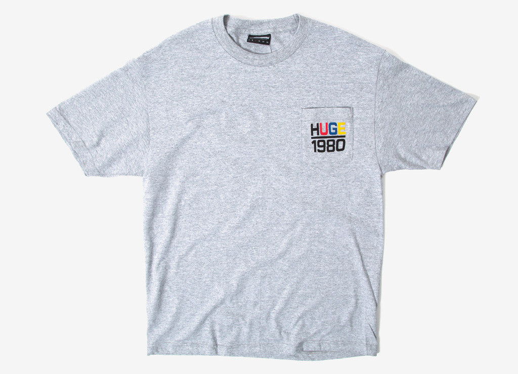 The Hundreds Sail Pocket T Shirt - Athletic Heather
