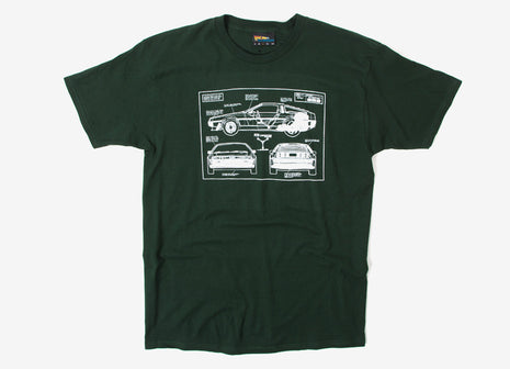 The Hundreds Plans T Shirt - Forest
