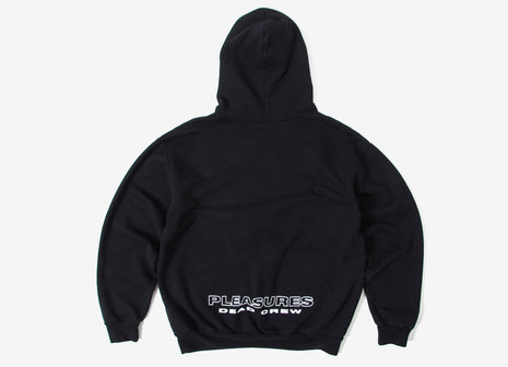 Pleasures x The Grateful Dead Crew Hoody - Black