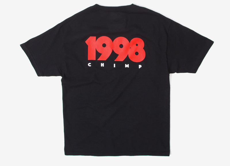 Chimp 1998 T Shirt - Black