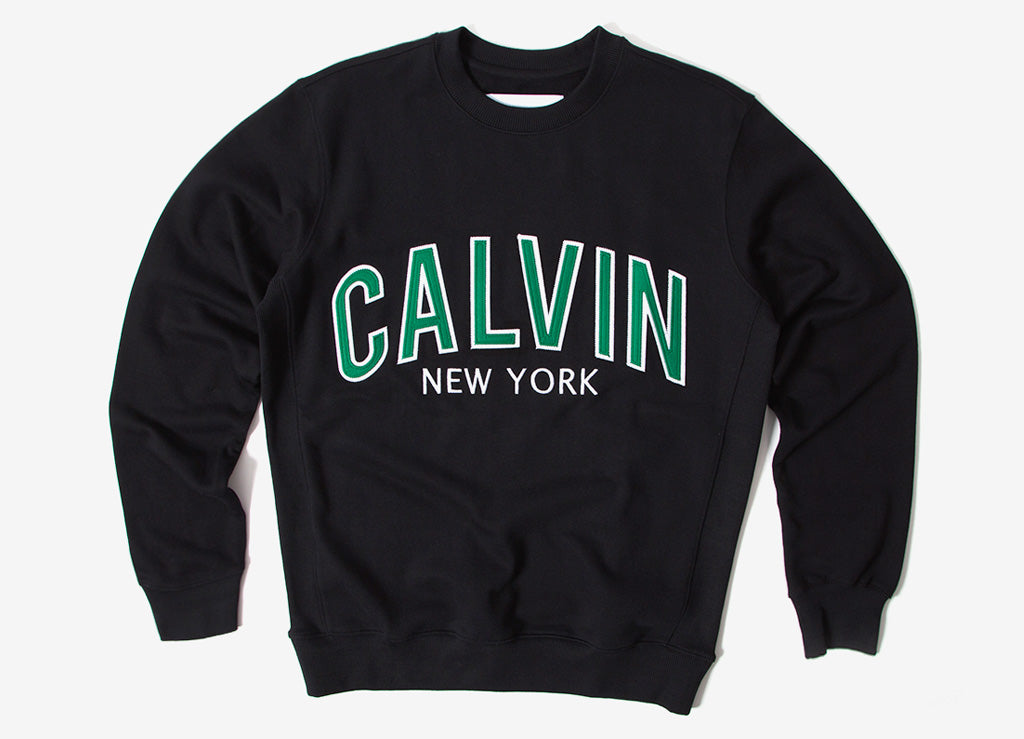 Calvin Klein Graphic Crewneck Sweatshirt - CK Black