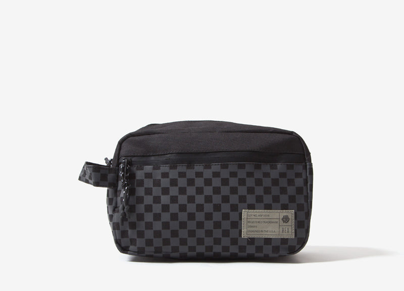 HEX Aspect Dopp Kit - Black/Check