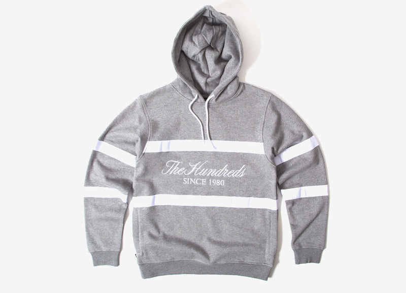 The Hundreds Palmer Pullover Hoody - Athletic Heather