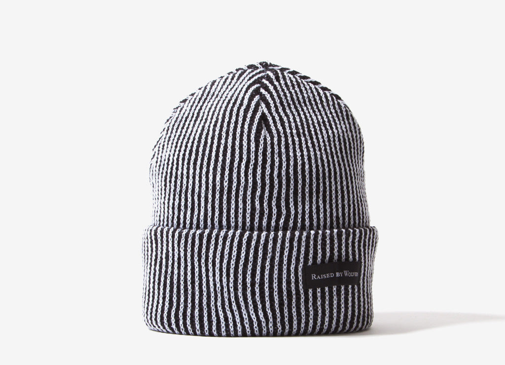 15d7809bff918 Raised By Wolves Vertical StripeWatch Cap Beanie