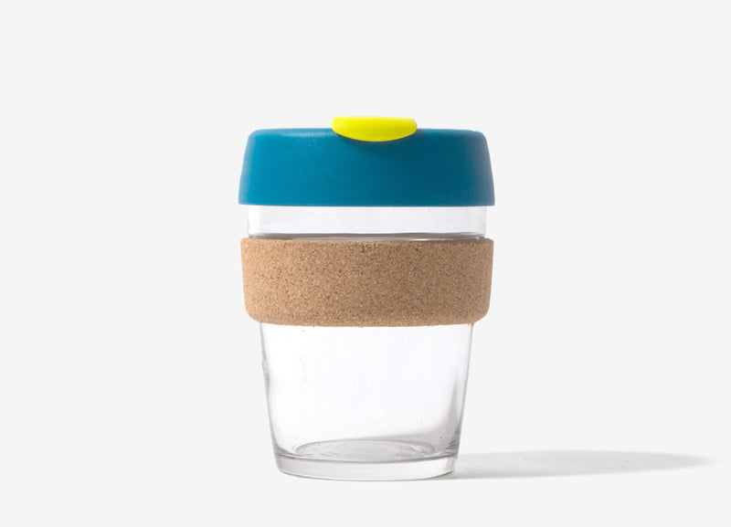 KeepCup Cork Reusable Glass Coffee Cup - Turbine