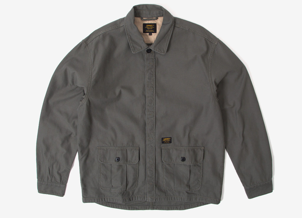 Carhartt Anson Shirt Jacket - Moor (Stone washed)