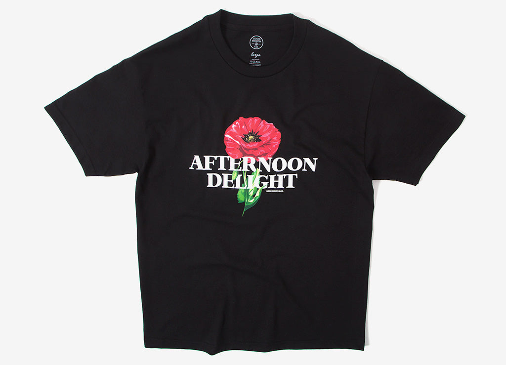 Good Worth & Co Afternoon Delight T Shirt - Black