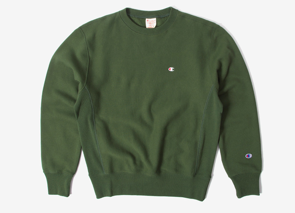 Champion Reverse Weave Sweatshirt , Green