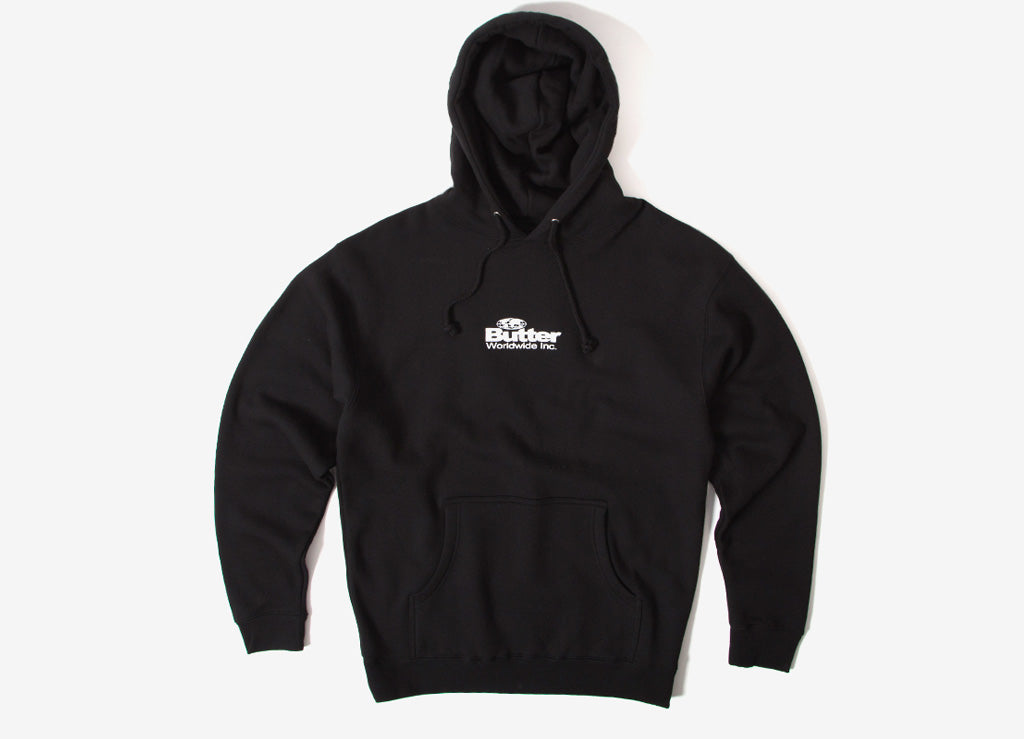 Butter Goods Incorporated Pullover Hoody - Black