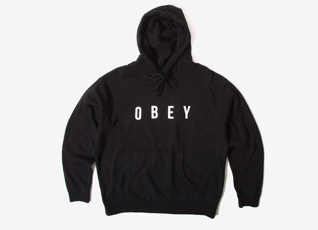 Obey Anyway Pullover Hoody - Dusty Black
