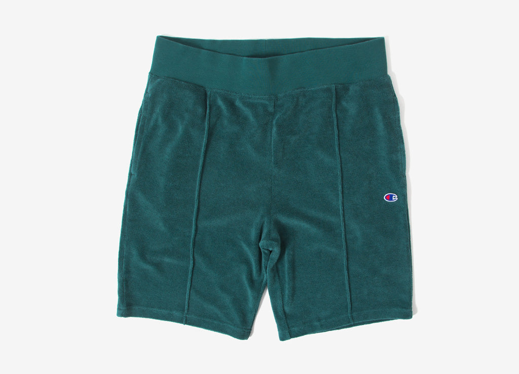 Champion Reverse Weave Vintage Terry Shorts - Green