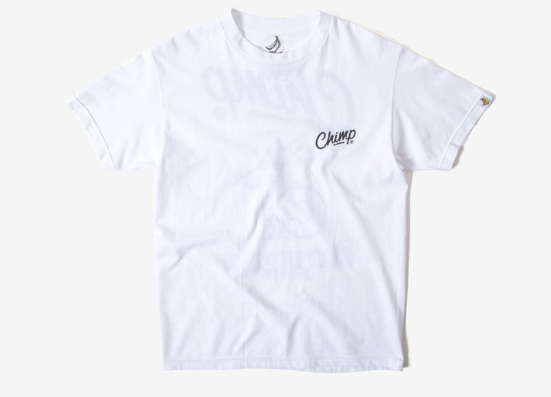 Chimp Surf Man T Shirt - White