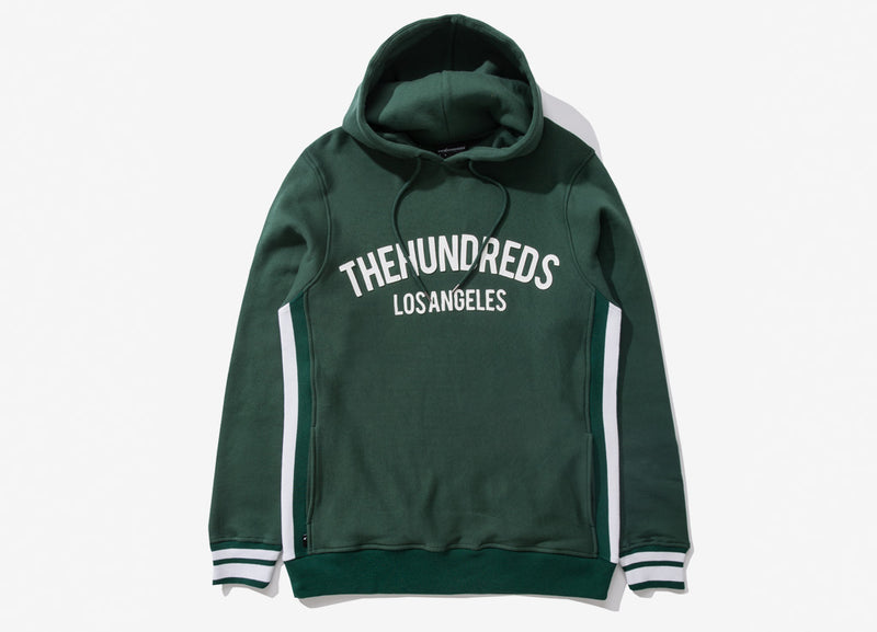 The Hundreds Genesee Pullover Hoody - Hunter Green