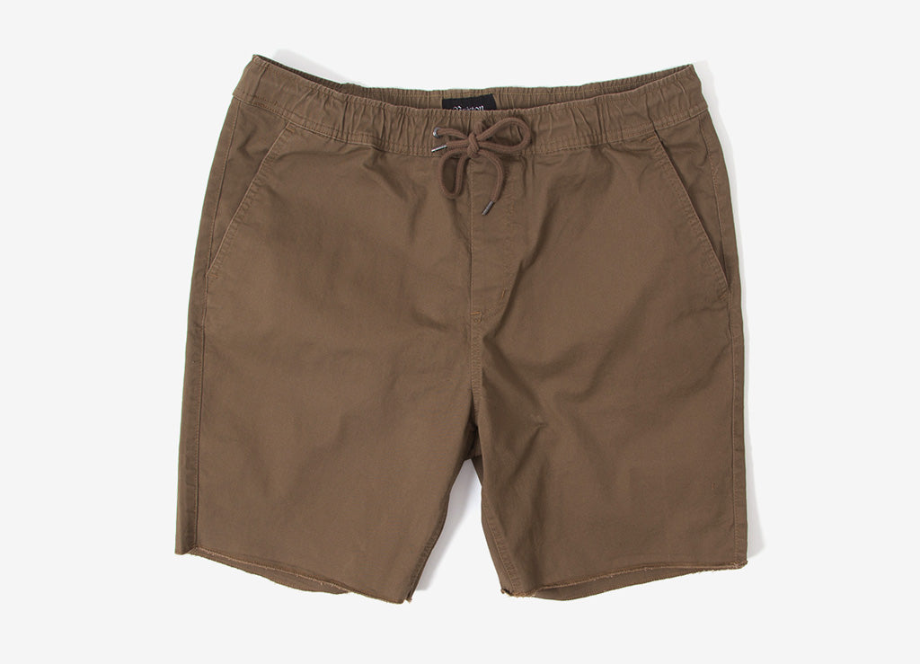 Brixton Madrid Shorts - Dark Khaki