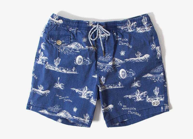 Deus Ex Machina Springs Shorts - Blue Springs