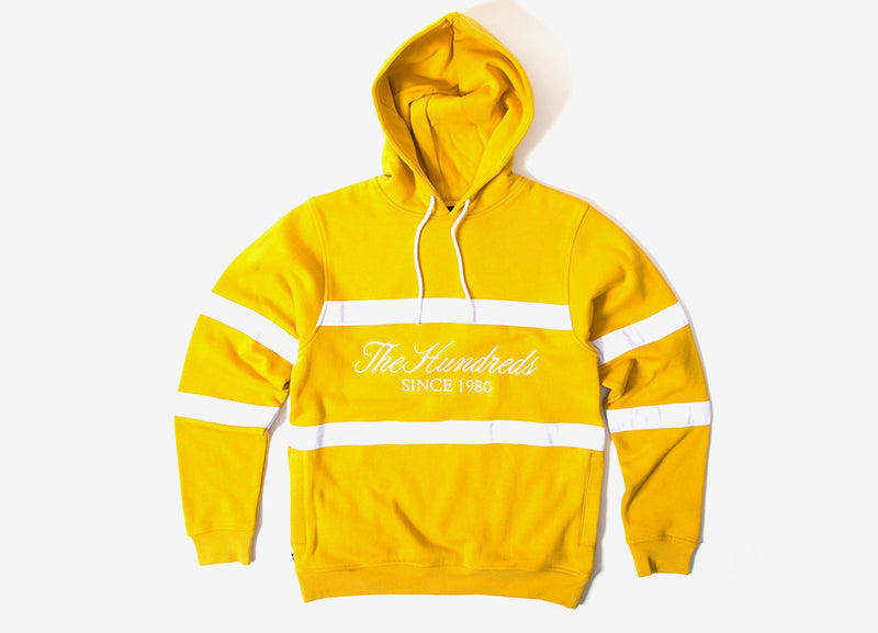 The Hundreds Palmer Pullover Hoody - Mustard