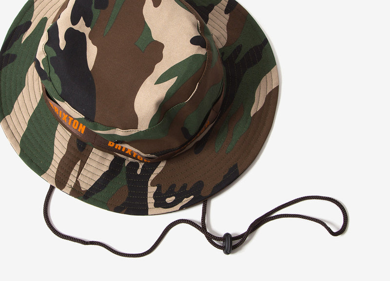 Brixton Ration Bucket Hat - Camo