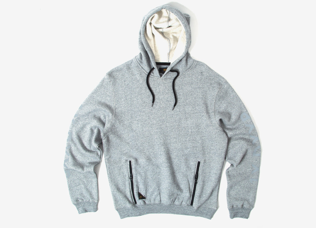 10Deep Boxed Out Hoody - Grey Marl
