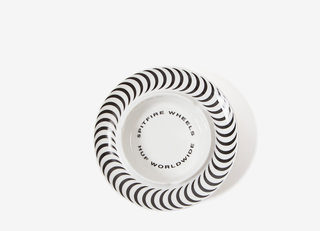 HUF x Spitfire Ashtray - White