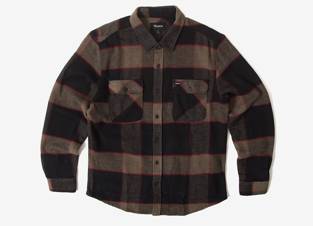 4cd1a74c3476 Brixton Bowery Flannel Shirt | Brixton Shirts | Woven & Flannel ...