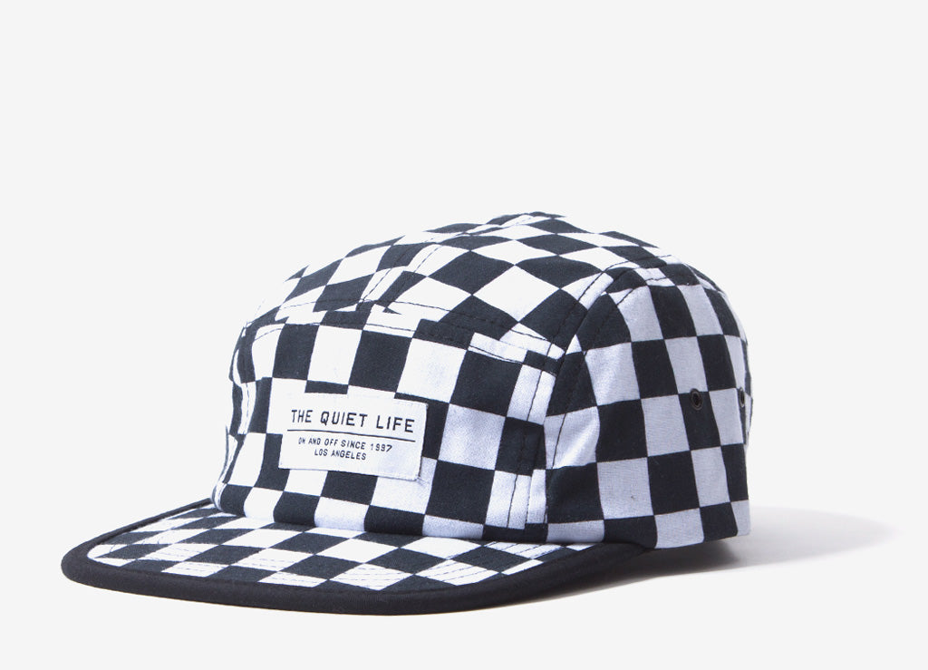 94c26bf8598 The Quiet Life Checker 5 Panel Camper Hat