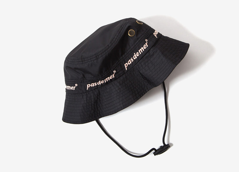 Pas de Mer Suburb Bucket Hat - Black