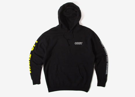 Obey Fight Those That Control Pullover Hoody - Black