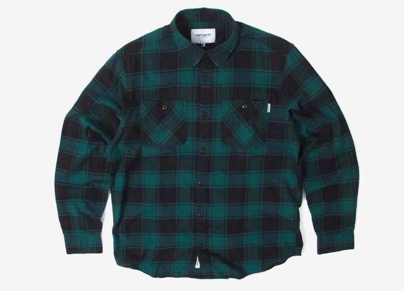 Carhartt Josh Shirt - Green/Black